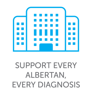 Support every Albertan, every diagnosis